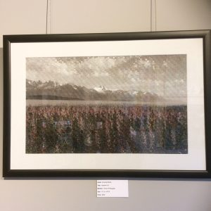 Alaskan Fall, Woven Photograph, by Emerald Estock